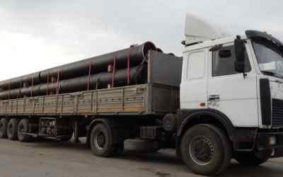 Аренда длинномера для перевозки труб, стройматериалов - Калининград, заказать или взять в аренду