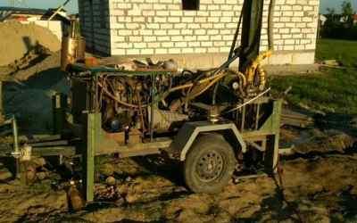 Бурим скважины на воду, абиссинских колодцев - Калининград, цены, предложения специалистов