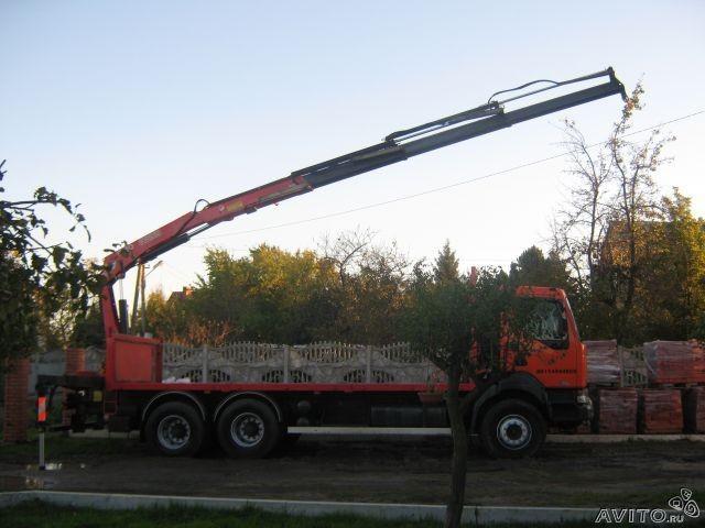 Сдам в аренду манипулятор Renault kerax 370 DCI 6Х4 - Калининград, заказать или взять в аренду