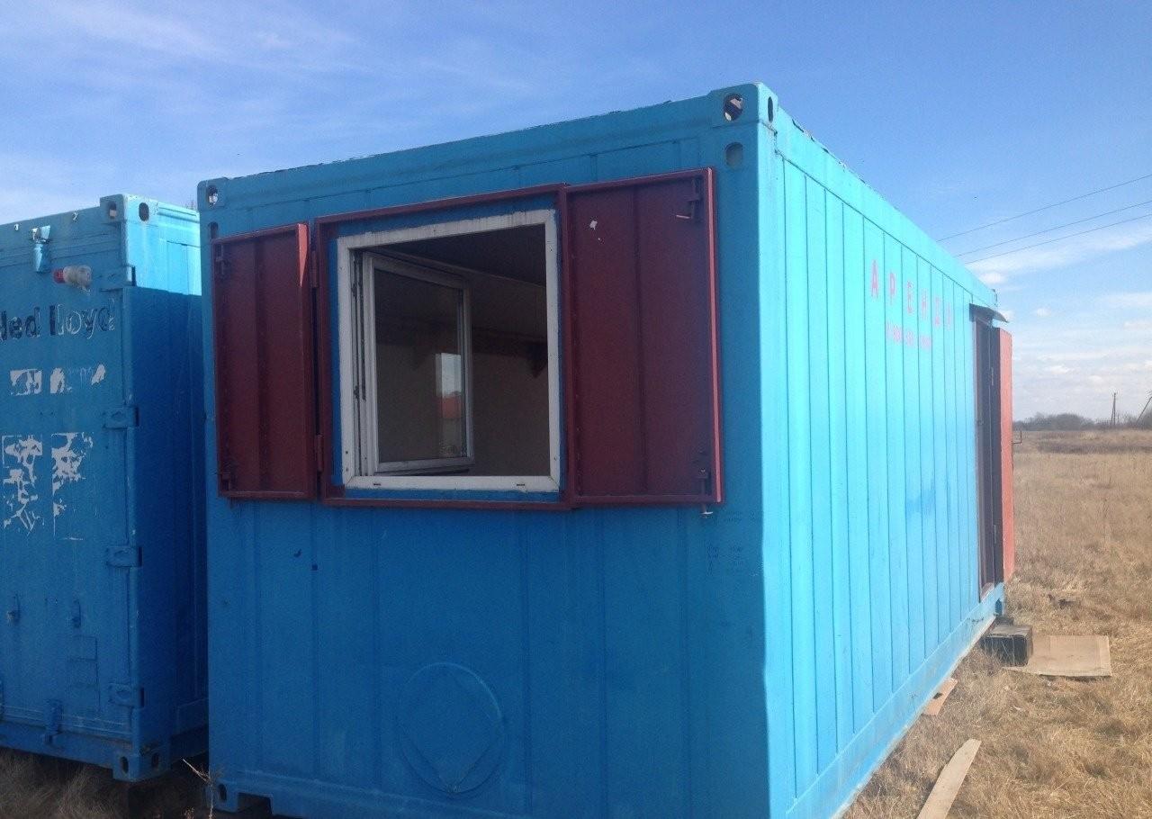 Бытовка-контейнер в аренду - Калининград, заказать или взять в аренду
