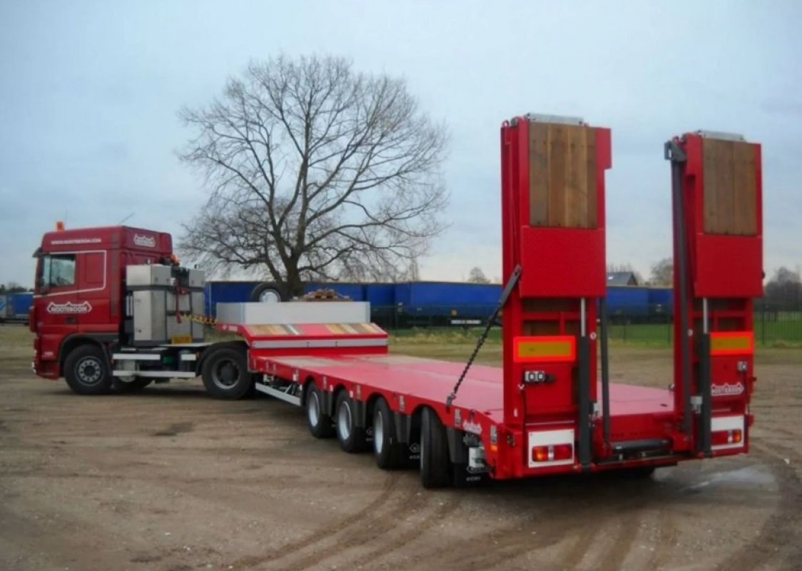 Перевозка негабаритных грузов низкорамными полуприцепами по РФ - Калининград, заказать или взять в аренду