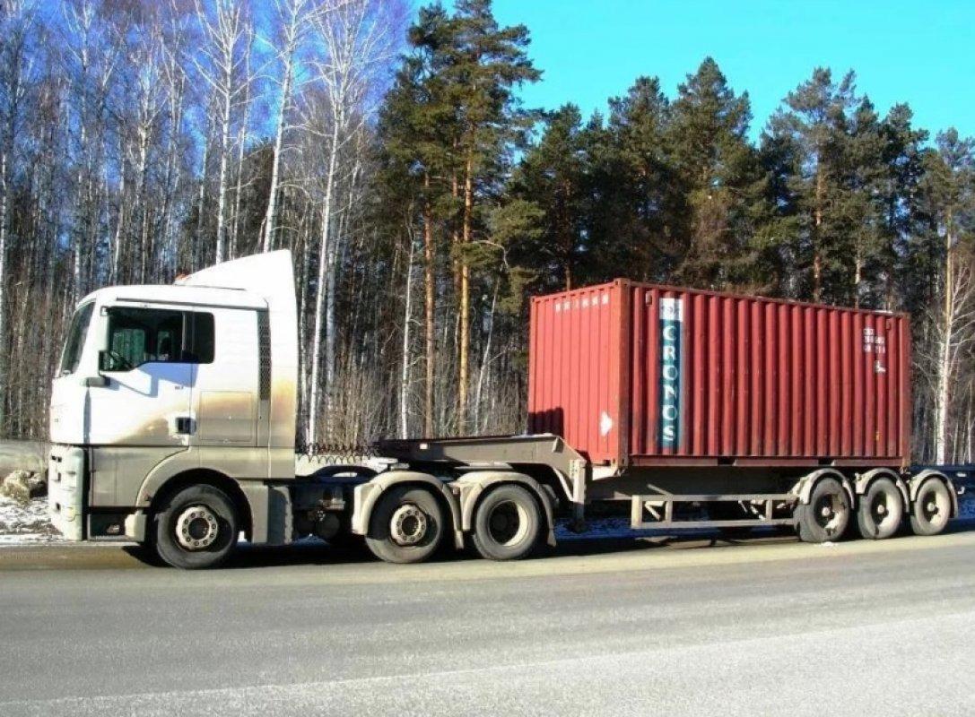 Полуприцеп, тягач MAN, Volvo - Калининград, заказать или взять в аренду